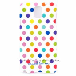 Классический чехол с точками ARU для на Samsung Galaxy Note 3