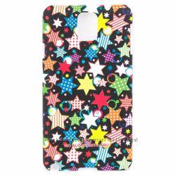 Чехол накладка пластик звезда ARU для на Samsung Galaxy Note 3
