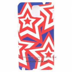 Чехол накладка звёздочки ARU для на Samsung Galaxy Note 3 Stars
