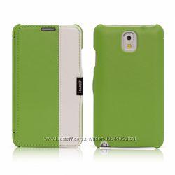 Чехол книжка iCarer двухцветный для на Samsung Galaxy Note 3 вариантов 7