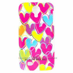 Чехол накладка сердечка ARU для на Самсунг Галакси Samsung Galaxy S4