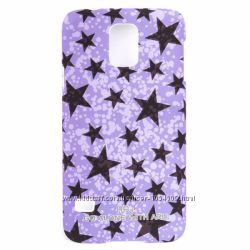 Чехол накладка со звёздами ARU для на Samsung Galaxy S5 светится в темнот