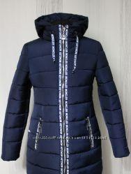 Женская куртка стильный пуховик