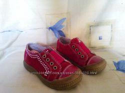 Кожаные кроссовки туфли Joy для девочки 24 размер