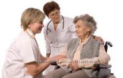 Уход за пожилыми людьми сиделка