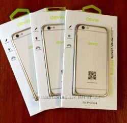 Металический Бампер Чехол Devia для на Айфон iPhone 6