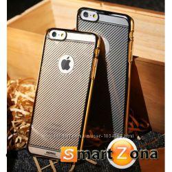 Новый Чехол накладка в сеточку Remax для на Айфон iPhone 6