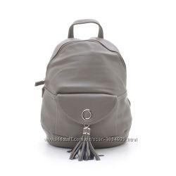Городской рюкзак с кисточкой хаки DAVID JONES Premium качество Реал. фото
