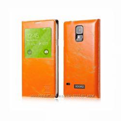 Чехол-книжка Xoomz с окошком много цветов кожа Samsung Galaxy S5 Original