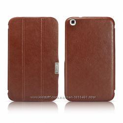 Кожаный чехол Смарт кейс Smart case iCarer для на Samsung Galaxy Tab 3 8. 0