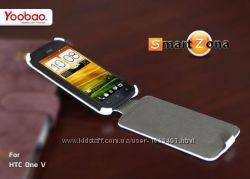 Чехол Флип Yoobao для на НТС HTC One V T320e и One X S720e и One S Z320e