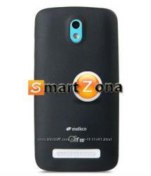 Чехол накладка Melkco 0. 4 mm для на НТС HTC One M7 и Mini M4 и Desire 500
