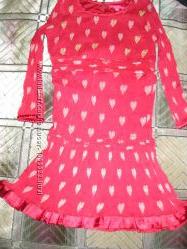 красивое легкое платьице Derhy Kids 6-8 лет110 см