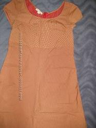очень красивое коттоновое платье etcetera S36