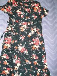 интересное летнее платье next  р. 38-40  10-12 М