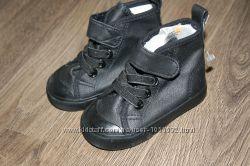 Кеды ботинки черные H&M рр18-19 по стельке 12см  новые