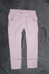 Джинсы чиносы брюки летние на девочку Topolino  2-4 года