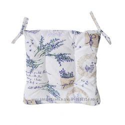 Подушечка на стул -  из итальянской ткани, в стиле прованс