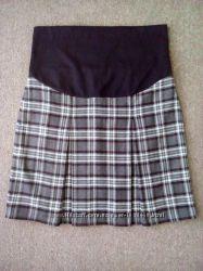 Тёплая юбка для беременных р. S