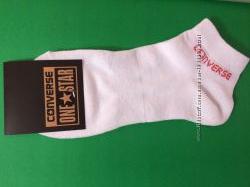 Женские носки Converse белые низкие
