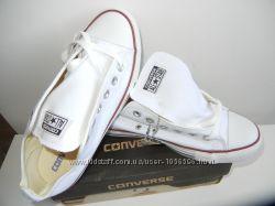 Кеды Converse All Star мужские белые низкие. Распродажа