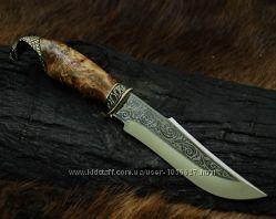 Нож охотничий ручной работы на подарок для мужчины