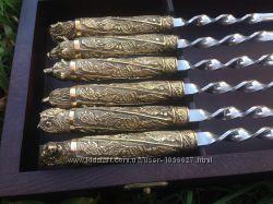 Шампура подарочные ручной работы подарок для мужчины