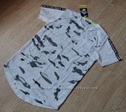Новая белая футболка для мальчика на 14лет