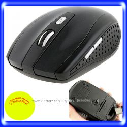 Игровая мышь беспроводная 2, 4 Мышка ПК 5 кнопок
