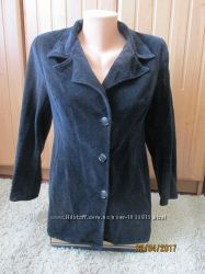 Удлиненный велюровый пиджак