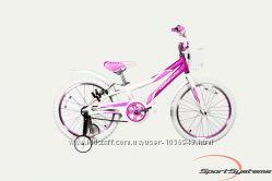 Детский велосипед Comanche Butterfly 20