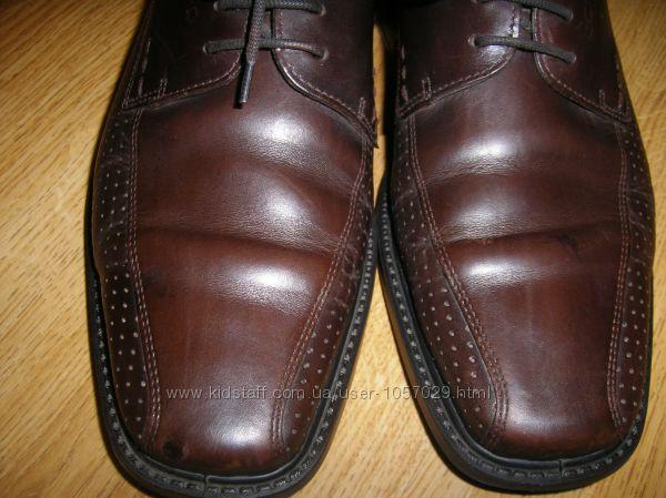Туфли мужские классические на шнурках Ecco размер 41