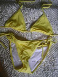 Купальник размер S US желтого цвета дешево