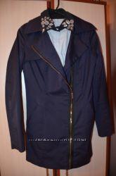 Трендовое пальто-косуха размер M-L