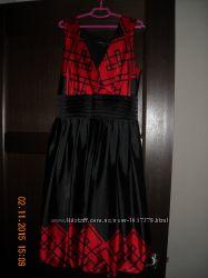 Нарядное вечернее платье сарафан s-m