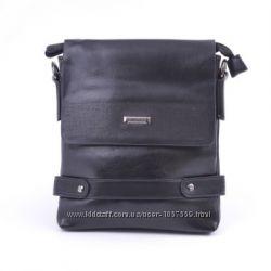 Мужская сумка-планшет черная