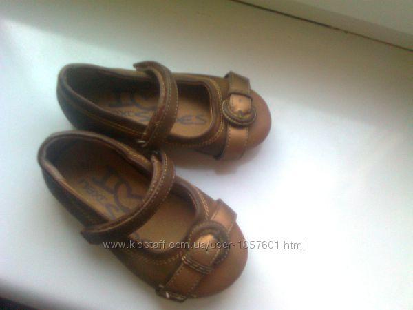 Супер туфли от Next р. 6, стелька 13, 8 см