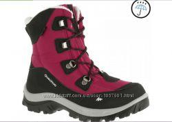 Ботинки Forclaz 100 Quechua детские, розовые, р. 30, стелька 19 см