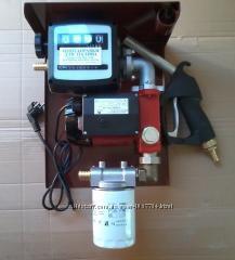 Мини-заправка 220 Вольт 35лмин для перекачки дизтоплива. Гарантия