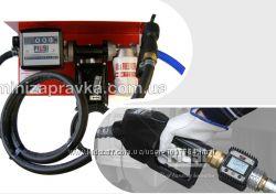 Мини АЗС 220В 50лмин для перекачки бензина с насосом ЕХ50 и мех. счетчиком