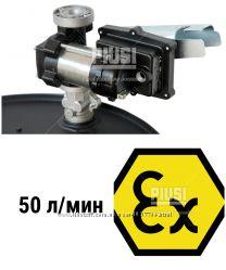 Насос для перекачки бензина EX50 230V AC ATEX с креплением под бочку