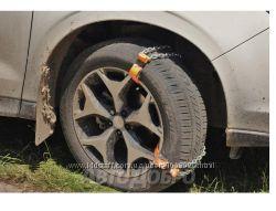 Цепи браслеты противскольжения легкового авто