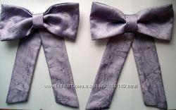 Банты фиолетовые для рукоделия или украшения одежды
