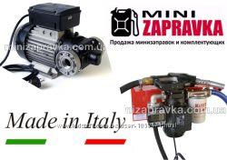 Насос для перекачки дизеля 220Вольт 100лмин E-120М Италия
