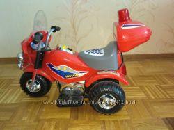 мотоцикл Бембі  для юного полiцейського в ідеалі