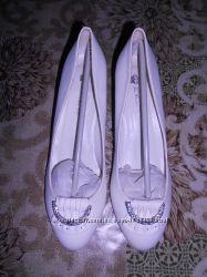 Свадебные туфли 38 р.