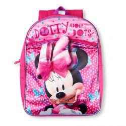 Рюкзачки  с Минни, Disney Girls&180 Minnie Mouse Dotty