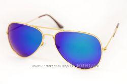 Солнцезащитные очки Авиатор зеркальные 2 модели