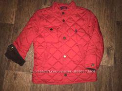 Красивая стеганная куртка - ветровка Ralph Lauren