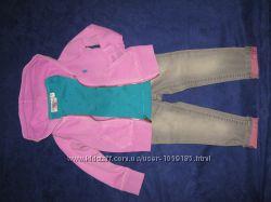 Комплекти одягу для дівчинки на ріст 80-92